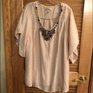 Rock Beaded Tunic Shirt